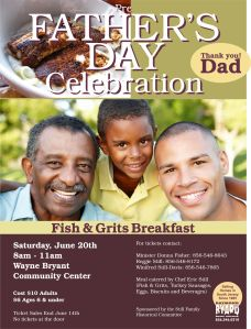 Father's Day Breakfast 2015